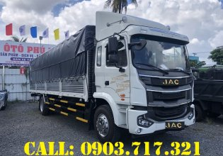 Xe tải Jac A5 Euro 5 2020. Bán xe tải Jac A5 thùng dài 9m6 tải 7T6 giá 870 triệu tại Bình Dương