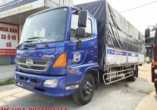 Bán xe tải Hino 6T5 thùng bạt đời 2021 giá 800 triệu tại Tp.HCM