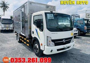 Giá xe tải 3 tấn 5 thùng dài 4m3 động cơ Nissan - thùng kín/ thùng mui bạt giá 445 triệu tại Bình Dương