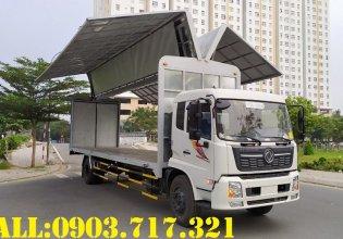 Xe tải Dongfeng thùng kín cánh dơi. Bán xe tải Dongfeng B180 thùng kín cánh dơi giá 1 tỷ 80 tr tại Bình Thuận