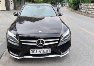 Không gian riêng sành điệu, Mercedes C200 năm 2015, màu đen giá 928 triệu tại Hà Nội
