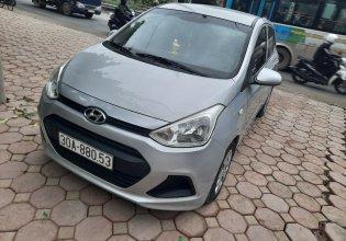Bán ô tô Hyundai Grand i10 đời 2015, màu bạc, nhập khẩu nguyên chiếc, xe gia đình giá cạnh tranh giá 250 triệu tại Hà Nội