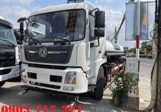 Xe bồn Dongfeng 9 khối chở nước tưới cây rửa đường  giá 720 triệu tại Bình Dương