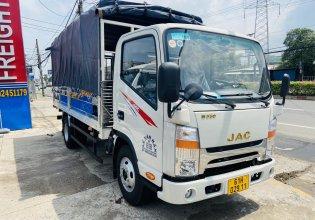 Xe tải JAC N350 thùng mui bạt dài 4m4, chỉ 120tr nhận xe ngay1 giá Giá thỏa thuận tại Bình Dương