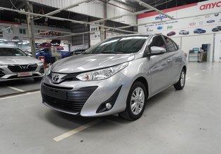 Bán Toyota Vios E 1.5AT đời 2019, màu bạc giá cạnh tranh giá 488 triệu tại Hà Nội