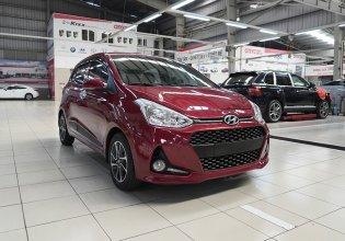 Bán Hyundai Grand i10 1.0AT đời 2017, màu đỏ giá 349 triệu tại Hà Nội