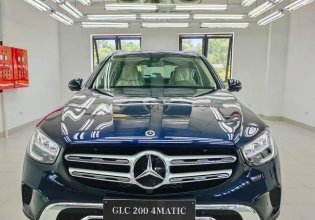 Bán xe Mercedes GLC 200 4matic đời 2021, màu xanh lam giá 2 tỷ 99 tr tại Nghệ An