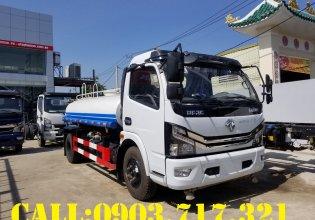 Xe bồn phun nước 5 khối hiệu DongFeng nhập khẩu 2021 giá tốt, giao xe nhanh giá 510 triệu tại Cần Thơ