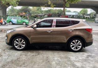 Cần bán xe Hyundai Santa Fe sản xuất 2015, màu nâu giá 800 triệu tại Hà Nội