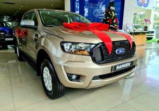 Bán Ford Ranger XLS AT đời 2021, màu vàng, nhập khẩu chính hãng giá 640 triệu tại Bắc Giang