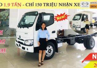 Giá xe tải Hino 1 tấn 9 đời mới nhất 2021 giá 674 triệu tại Đà Nẵng