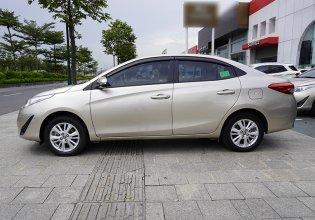 Cần bán Toyota Vios sản xuất 2018, màu vàng giá 479 triệu tại Hà Nội