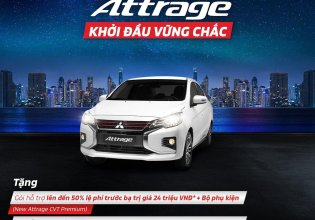 Bán Mitsubishi Attrage đời 2021, màu trắng, xe nhập, 375 triệu giá 375 triệu tại Hà Nội