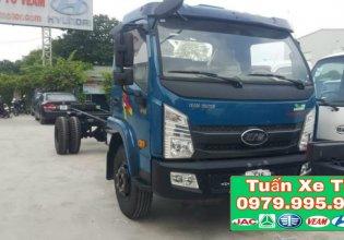 Xe tải VEAM VT751 thùng mui bạt giá 520 triệu tại Hà Nội
