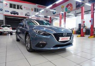 Cần bán xe Mazda 3 2.0AT đời 2015, màu xanh lam, chính chủ giá 490 triệu tại Hà Nội