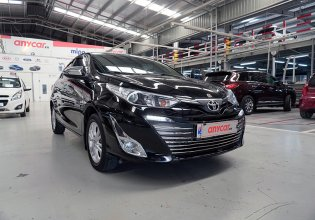 Cần bán lại xe Toyota Vios G đời 2019, màu đen, 505tr giá 505 triệu tại Hà Nội