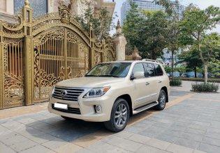 Lexus LX 570 đời 2012 vàng kem cực mới giá 3 tỷ 480 tr tại Hà Nội